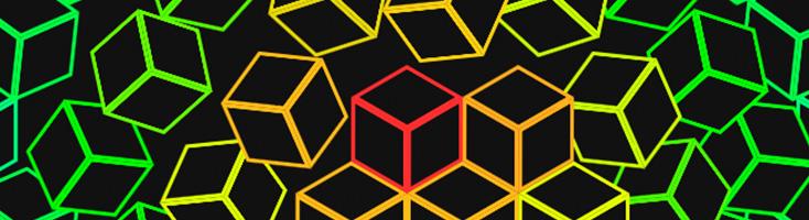 Падающие кубики