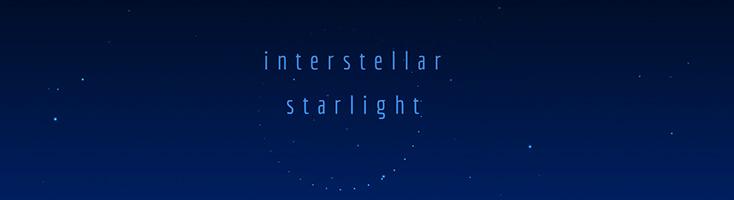 Межзвездный свет звезд