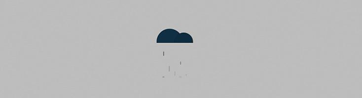 Дождь (по-питерски)