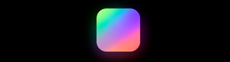 Анимация с разноцветной тенью на чистом CSS