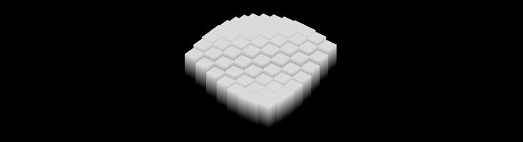 Волна из кубиков