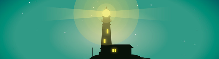 Анимация с маяком