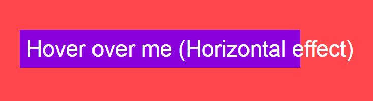 Плавное выделение текста при наведении на CSS