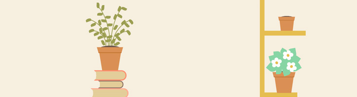 Анимация комнатных цветов на CSS