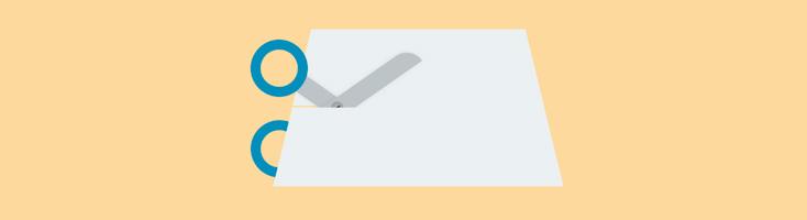 Анимация с ножницами на CSS