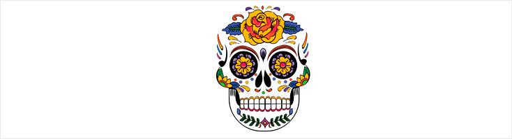 Креативный череп на CSS