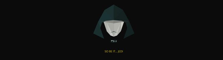 Трансформации персонажей Звездных войн из многоугольников