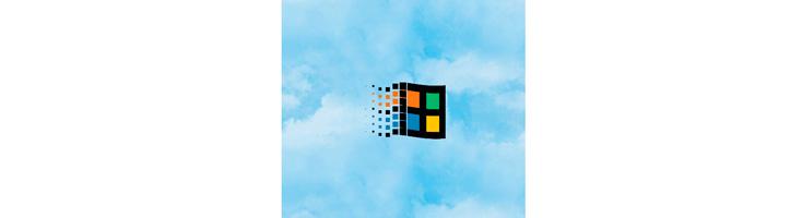 Анимация классического логотипа Windows