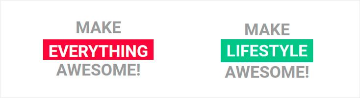 Простая, но эффектная анимация смены слов на CSS