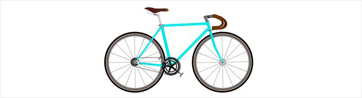 Велосипед на CSS