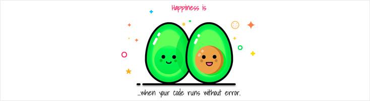 Счастье - это когда твой код запускается без ошибки