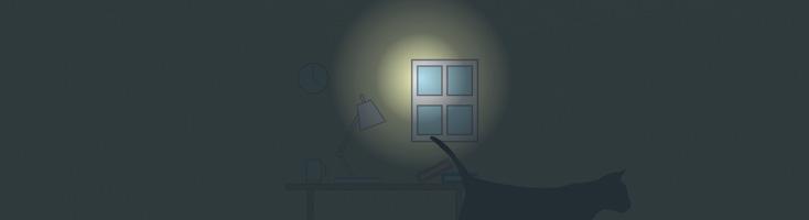 Офис в ночное время