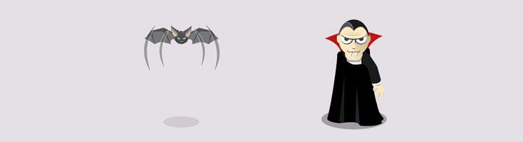 Трансформация вампира