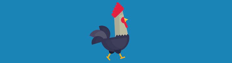 Анимация с курицей