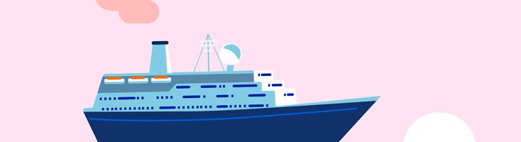 Анимация корабля на CSS