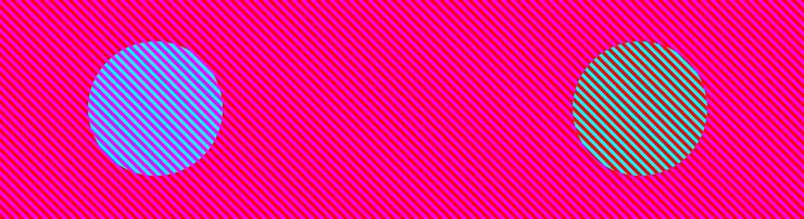 Оптическая иллюзия со цветом