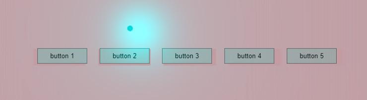 Тени у кнопок