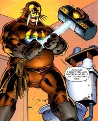 фото злодея по имени Человек-Морж из комиксов Marvel