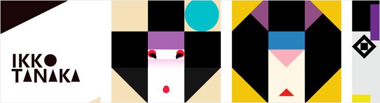Воспроизведение работ японского художника Икко Танака на CSS