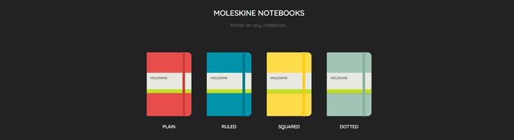 Блокноты Moleskine