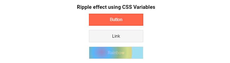 Эффекты волны при клике на кнопку