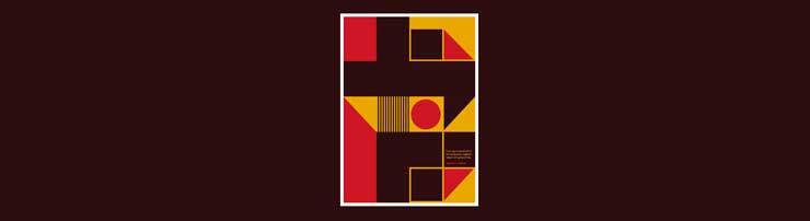 Графический постер на CSS-гридах