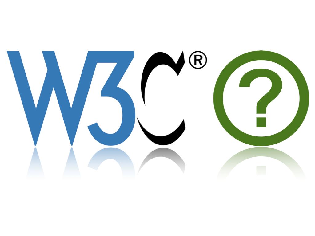 логотипы W3C и WHATWG